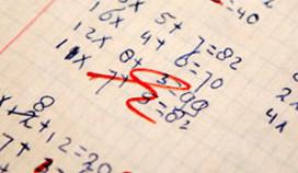 Iens en Zoover: dikke onvoldoende voor wiskunde