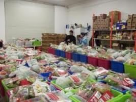 Eurest steunt de Voedselbank in Eindhoven