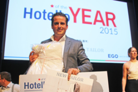 Pim Pelser is Hotello of the Year 2015