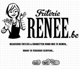 Friterie Renée van start in restaurant Witloof