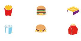 McDonald's lanceert Picto-campagne