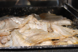 Toasten essentieel bij bereiding visbouillon