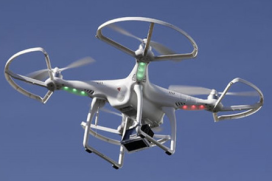 Drone brengt asperges naar sterrestaurant De Zwaan