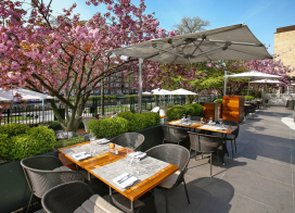 Terras Top 100 2014 nr. 44: Serre Restaurant, Amsterdam
