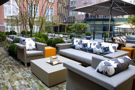 Terras Top 100 2014 nr. 69: Sofitel Legend The Grand Amsterdam, Amsterdam