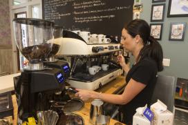 Koffie Top 100 2014 nummer 1: Coffeelicious, Dordrecht