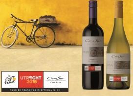 Chileense Cono Sur officiële wijnpartner Tour de France