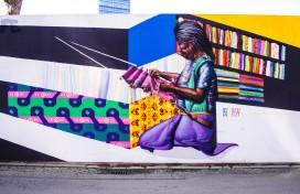 Graffiti-wedstrijd op bouwschutting Student Hotel