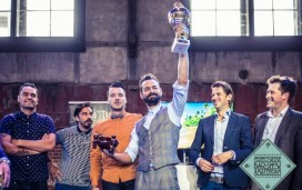 Loopuyt Gin wint cocktailstrijd Perfect Serve Barshow