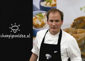 Rob van der Veeken wint eerste halve finale Zilveren Champignon