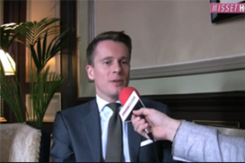 Video-interview nieuwe hotel manager Des Indes