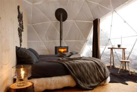 Fotorepo ijskoude winterhotels