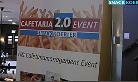 Video sfeerverslag cafetaria kennisevent