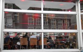 Foto's: Glazen Restaurant opent in Leeuwarden