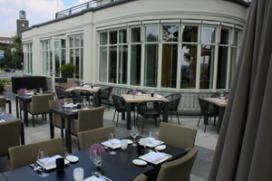 Foto's (nieuwe) terras restaurant Noble