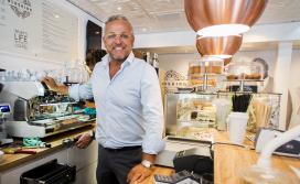 Gordon start derde koffiezaak aan Coolsingel