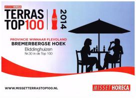 Foto's: Terras Top 100-winnaars in beeld