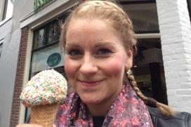 Leukste softijs-selfie gemaakt bij Laan in Alkmaar