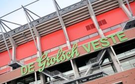 Fotoreportage catering in stadion Grolsche Veste