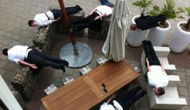 Planking: de eerste horecafoto's