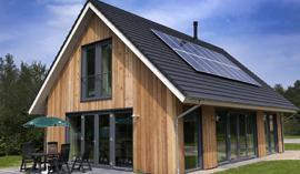Eco-bungalows voor Landal
