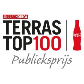Bernardushoeve aan kop Terras Top 100 Publieksprijs