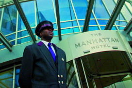 The Manhattan wordt Marriott Rotterdam
