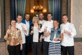 Foto's: perslunch Jeunes Restaurateurs