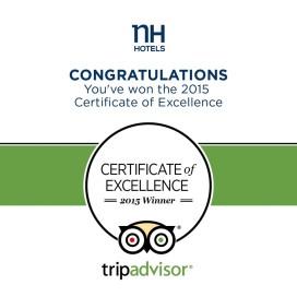 TripAdvisor bekroont NH Hotels