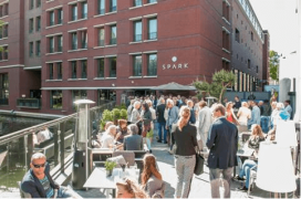Terras Top 100 2015 nummer 45 Spark The Hague, Den Haag