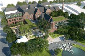 Hermanides slaat eerste paal nieuw Hotel Arena