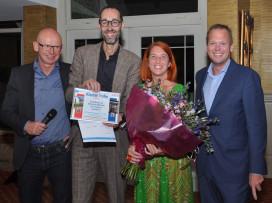 Said Maher en Marjolein Woerlee ontvangen Klasbak Trofee