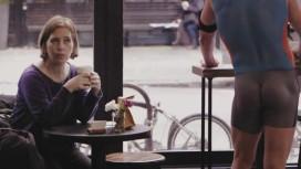 Naakte barista's in koffiebar New York