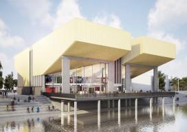 Nieuwe bios Dordrecht krijgt terras over water