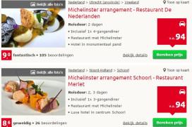 Kras: arrangementen voor tien sterrestaurants