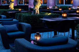 Terras Top 100 2015 nummer 96 The College Hotel, Amsterdam