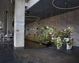Zwevende tuin in nhow Rotterdam