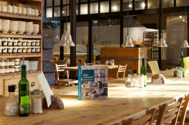 Vegetarisch concept van Le Pain Quotidien