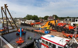 'Bierschepen' dupe van hijskraanongeval Alphen aan de Rijn