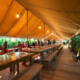 Belgisch pop-up restaurant in het maïs start maishotel