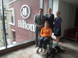 Hilton The Hague scoort op toegankelijkheid