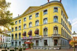Pop-up museum in Hotel Des Indes