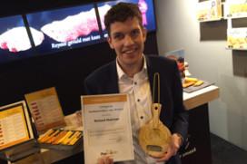 Richard Huisman wint Prettetter Award