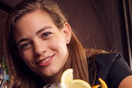 Bartender Tess Posthumus achtste van de wereld