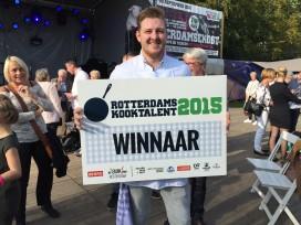 Justin Koopman wint Rotterdams Kooktalent 2015