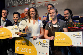 12e Columbus Trophy voor 'The Real Wine Gum'