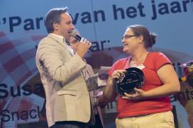 Susan in tranen na winnen Parel