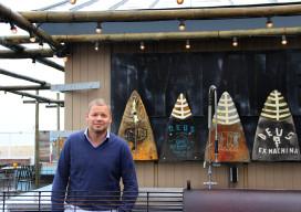 Tijn Akerloot Zandvoort: 'Van zwembroek tot winterjas'