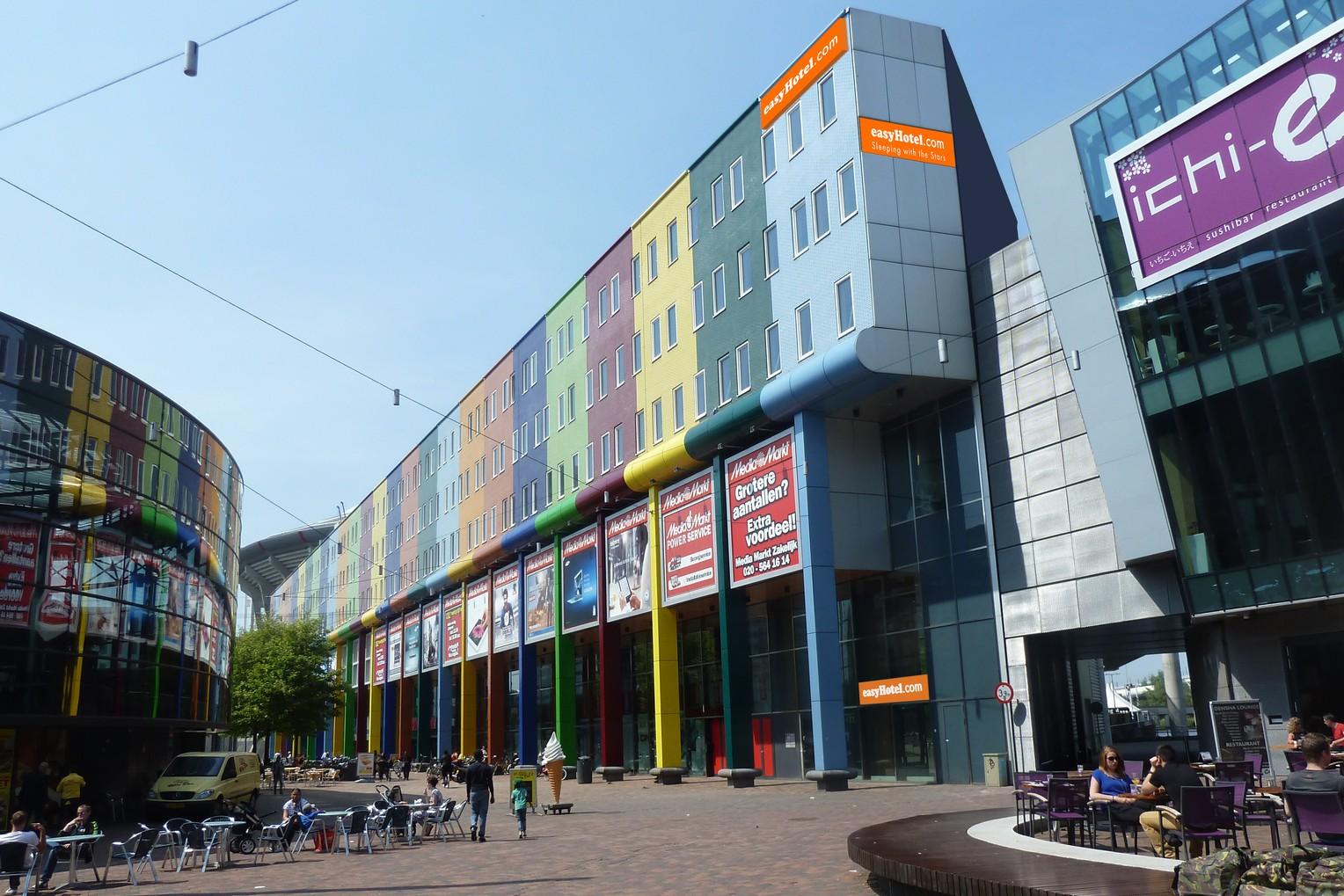 Danzep bouwt easyhotel bij arena en in brussel misset horeca for Hotels 02 arena