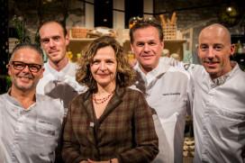 Dutch Cuisine chefs koken diner zonder zout, suiker en vet